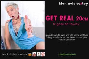 Read more about the article Gode réaliste GET REAL le gros dildo pour se faire démonter